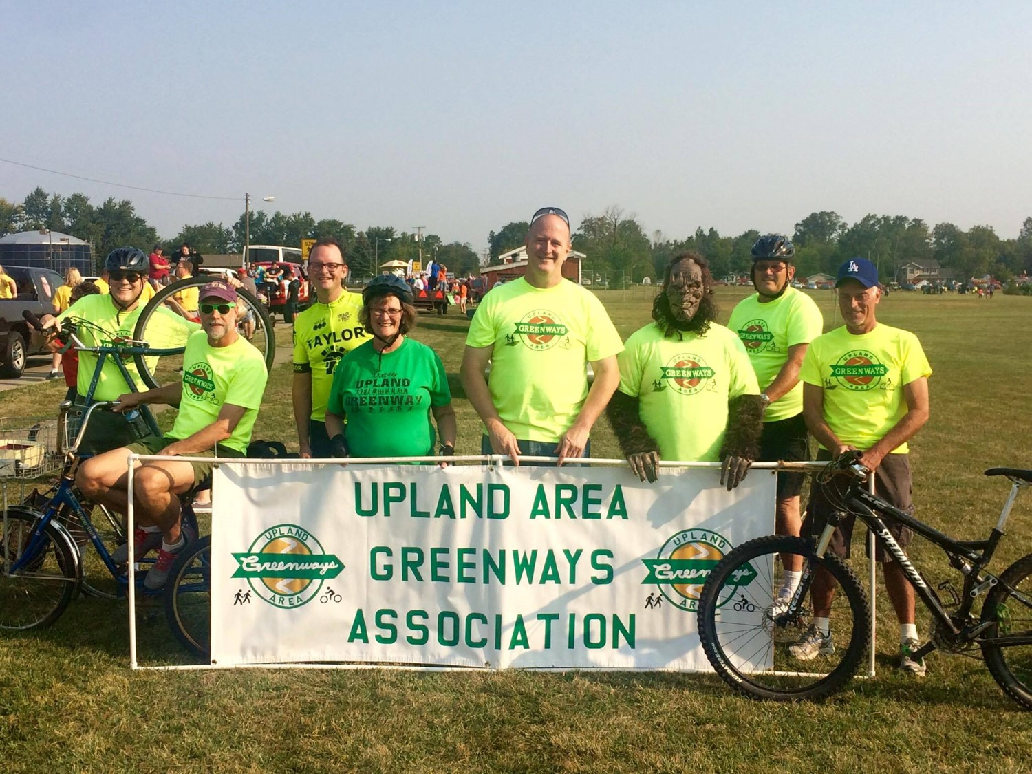 Members of the Upland Area Greenways Association